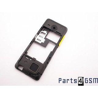 Nokia 206 Dual Sim Middenbehuizing Geel 02501L1