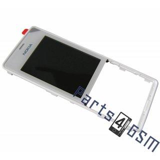 Nokia 515 Front Cover Frame, Wit, 02504V4