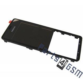 Nokia 515 Front Cover Frame, Zwart, 02504V3