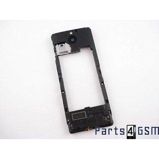 Nokia 515 Middenbehuizing, Zwart, 02504W0