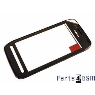 Nokia 603 Touchscreen Display + Frame Black 0089W24