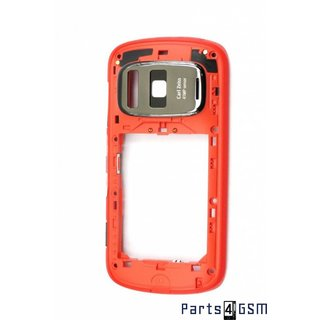 Nokia 808 PureView Middenbehuizing Rood 026920C