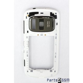 Nokia 808 PureView Middle Cover White 026919T