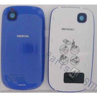 Nokia Asha 201 Battery Cover, Blue, 259452