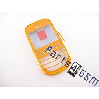 Nokia Asha 201  Front Cover Frame, Orange, 259319