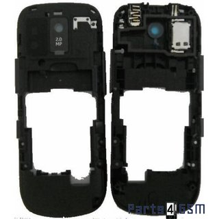 Nokia Asha 202 Middenbehuizing Grijs 259783