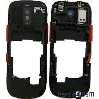 Nokia Asha 202 Middenbehuizing Rood 259785