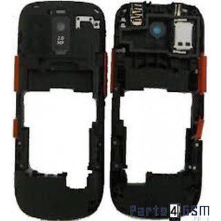 Nokia Asha 202 Middle Cover Red 259785