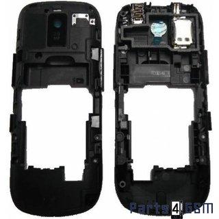 Nokia Asha 202 Middenbehuizing Zwart 259782