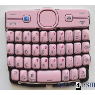 Nokia Asha 205 Toetsenbord Roze Engels 9793R96