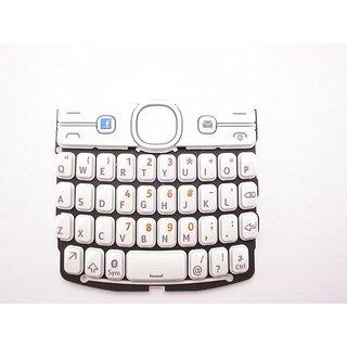Nokia Asha 205 Toetsenbord Wit Engels 9793R97