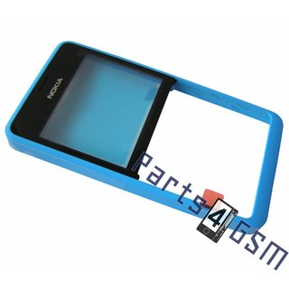 Nokia Asha 210 Front Cover Frame, Blauw, 02503G7
