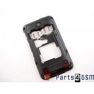 Nokia Asha 230 Dual SIM Middenbehuizing, Zwart, 02506L1