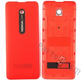 Nokia Asha 300 Battery Cover, Red, 02506G4