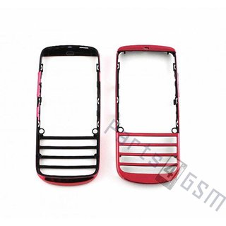 Nokia Asha 300  Front Cover Frame, Pink, 0259629