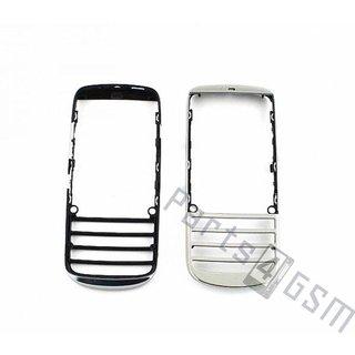 Nokia Asha 300 Front Cover Frame, Zilver, 0259632
