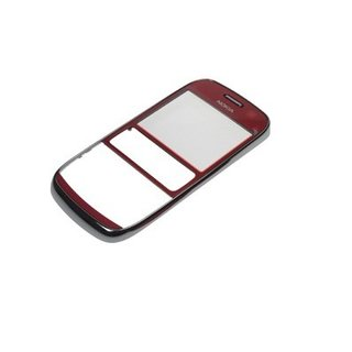 Nokia Asha 302 Front Cover Red 259223