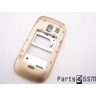 Nokia Asha 302 Middenbehuizing Goud 259370