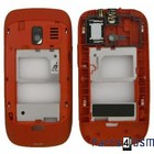 Nokia Asha 302 Mid Cover Rood 259371