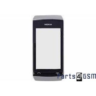 Nokia Asha 305,306 Front Cover White 00801J8