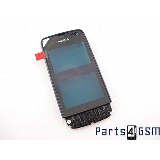 Nokia Asha 311 Touchscreen Display + Frame Blauw