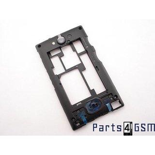 Nokia Asha 503 Middenbehuizing, Zwart, 02504J3