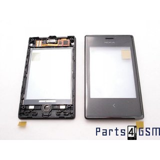 Nokia Asha 503 Touchscreen Display, Black, 00811M2