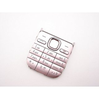 Nokia C2-01 Toetsenbord Roze 9792L61