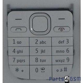 Nokia C2-01 Toetsenbord Wit 9792L58