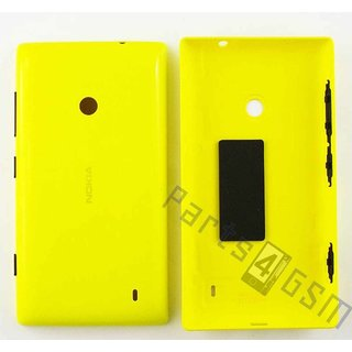 Nokia Lumia 525 Accudeksel, Geel, 02507C6