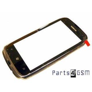 Nokia Lumia 610 Touchscreen Display + Frame Black 8002390