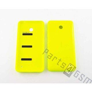 Nokia Lumia 635 Accudeksel, Geel, 02506D0