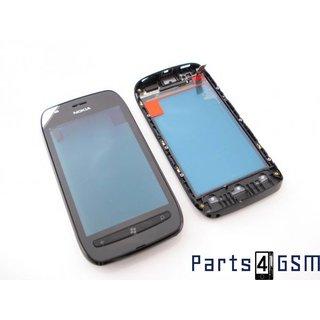Nokia Lumia 710 Touchscreen Display + Frame Zwart 0089W21