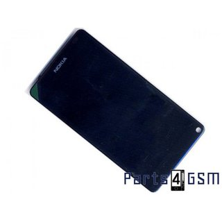 Nokia N9 LCD Display + Touchscreen + Frame Black 0089T99