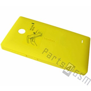 Nokia X Dual SIM Battery Cover, Yellow, 8003219