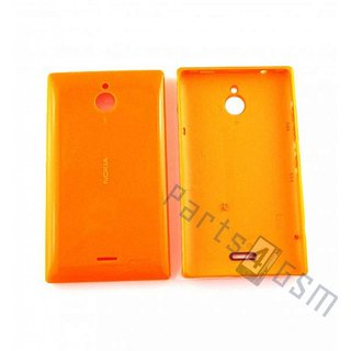 Nokia X2 Dual SIM Battery Cover, Orange, 02507D5