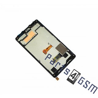 Nokia X2 Dual SIM Lcd Display Module, Zwart, 00812L6