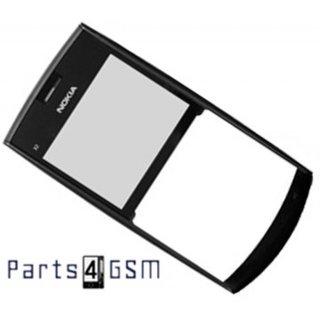 Nokia X2-01 Frontcover Donkergrijs 0258006