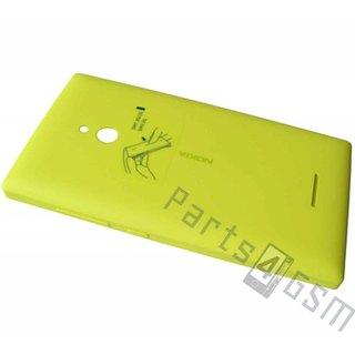 Nokia XL Dual SIM Accudeksel, Geel, 8003382