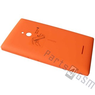 Nokia XL Dual SIM Battery Cover, Orange, 8003384