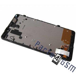 Nokia XL Dual SIM LCD Display Module, Zwart, 8003368