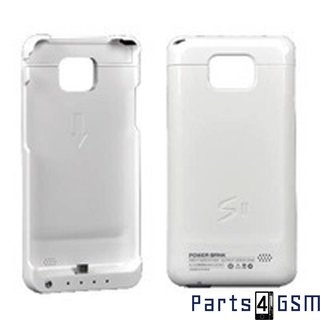 Samsung Galaxy SII i9100 Power Bank Case WhiteBlister