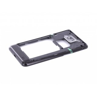 Samsung Galaxy SII i9100 Middle Housing Black