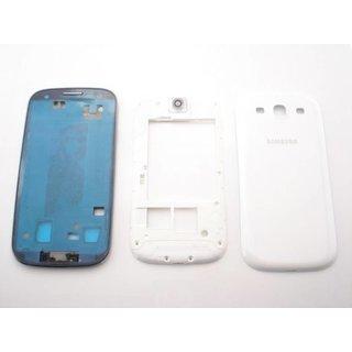 Samsung Galaxy S3 / S III  i9300 Behuizing Set Compleet Wit