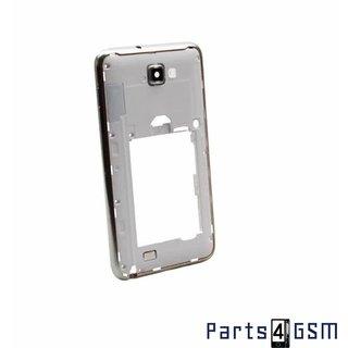 Samsung Galaxy Note N7000 Middenbehuizing GH98-21616B Wit