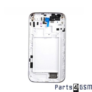 Samsung Galaxy Note II N7100 Middenbehuizing GH98-24442A Wit