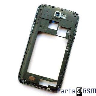 Samsung Galaxy Note II N7100 Middenbehuizing GH98-24442B Zwart