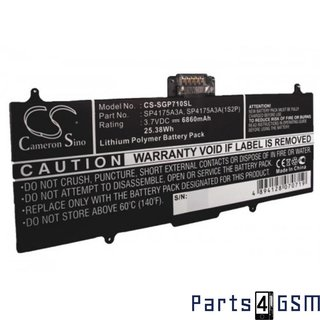 Samsung SP4175A3A Battery, Galaxy Tab 10.1v P7100, 6860mAh, SP4175A3A