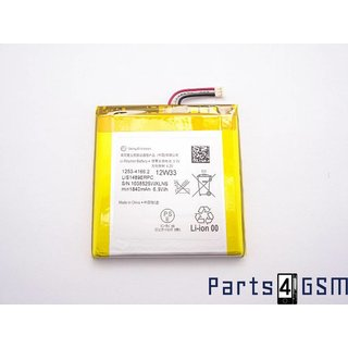 Sony 1253-4166 Battery, Xperia Acro S LT26W, 1840mAh, installation, 1253-4166