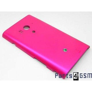 Sony Xperia Acro S LT26W Accudeksel Roze 1266-5401